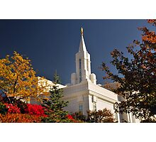 Bountiful LDS Temple Photographic Print