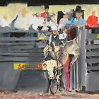 Bull Rider by Sandra Gray