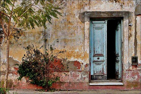 Y el tiempo se quedó a vivir aquí by Felicitas Molina
