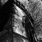 Mausoleum on a Hill - Laurel Hill by David Clayton