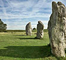 Avebury neolithic stone circle by Martyn Franklin