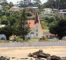 Uniting Church, Penguin, Tasmania by Rosdenphoto