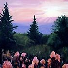 Appalachain Sunset by N. Sue M. Shoemaker