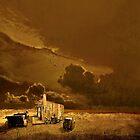 Desolate Landscape - Oregon by Jeff Burgess