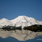 MOUNT SHASTA REFLECTION by Charlene Aycock IPA
