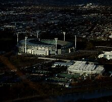 melbourne cricket ground by geof