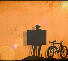 Artist Cyclist by Cleber Photography Design