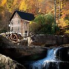 Glade Creek Grist Mill by Jeanne Sheridan