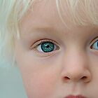 Lil Hunter and his baby blues by Carl LaCasse