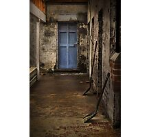 A closed door ... Photographic Print