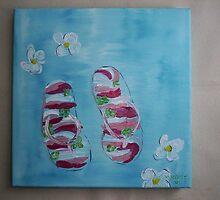 Summer Sandals by harold  messler