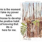 Affirmation to TAKE YOUR POWER BACK by Maree Clarkson