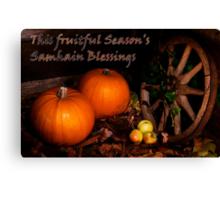 This Fruitful Season Canvas Print