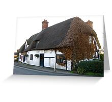 Thatched Pub Greeting Card