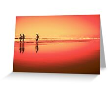 Summer Days in Puerto Greeting Card