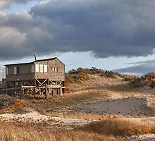 Dune Shack on Provincelands by bettywiley