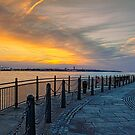 Sunset over the mersey by spemj