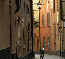 Gamlestan - Old Town - Stockholm, Sweden by Nina Brandin