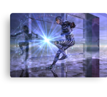 defy the boundaries (visible and invisible) Canvas Print