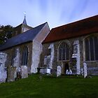 St.Michael's Roydon, Long Exposure by Patrick Noble
