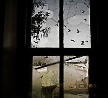 The windows no longer rattle as the world has now bypassed our town by JimFilmer