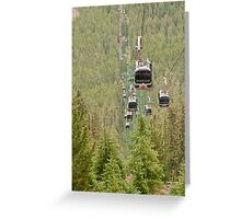Rush Hour in the Rockies Greeting Card