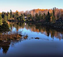 My Favorite Spot in Pinawa, Manitoba by Teresa Zieba