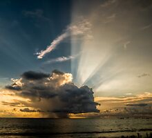 Stormy Sunset  by Keith Irving
