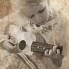 ukelele baby by Clare Colins