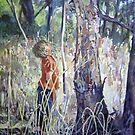 boy and tree by pamfox