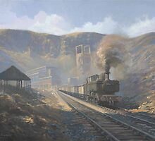 Bwllfa Dare Colliery by Richard Picton
