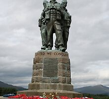 Commando Memorial by Paul Bettison