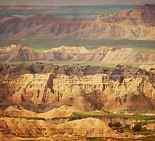 Badlands National Park I by Miles Glynn