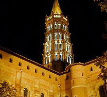 Saint Sernin at night by bubblehex08