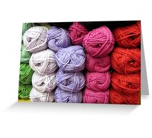 Let's Knit Greeting Card
