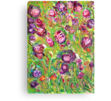 Flowers of Love Canvas Print