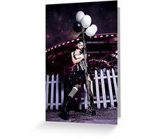Dark Carnival Greeting Card