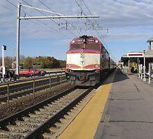 1064 MBTA Commuter Rail (INBOUND) by Eric Sanford
