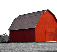 The Red Barn by gernerttl