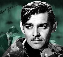 Clark Gable by Dulcina