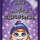 A Magical Christmas - Christmas Cards by CGafford