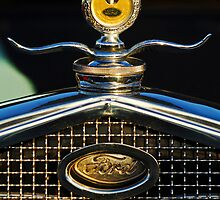"Ford ""Boyce MotoMeter"" Hood Ornament 2 by Jill Reger"
