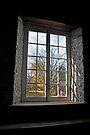 Old Mill Window - Manotick Ontario by Debbie Pinard