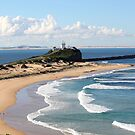 Nobbys Headland - Newcastle, NSW by Emma Griffen