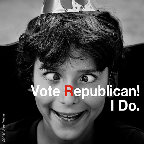 Vote Republican! 3 by Alex Preiss