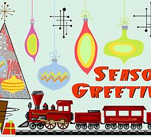 Seasons Greetings 1950's Style 3 by Graham Colton