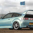 Honda CRX  by Rees Adams