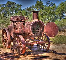 Steam Engine, Minilya, WA by BigAndRed