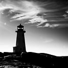 Peggy&#x27;s Cove Contrast by Charles Plant