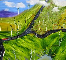 Road To The Highlands by Miles Rowan